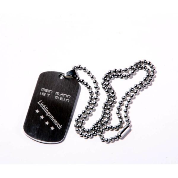 Graviertes Dog Tag